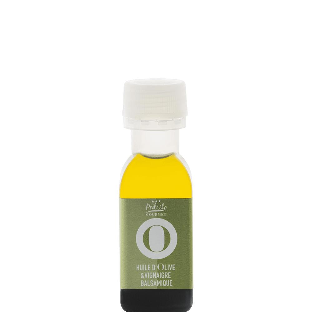 Mignonnette huile d 39 olive et vinaigre balsamique - Huile et vinaigre ...